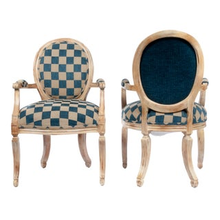 Gustavian Style Shield Back Chairs