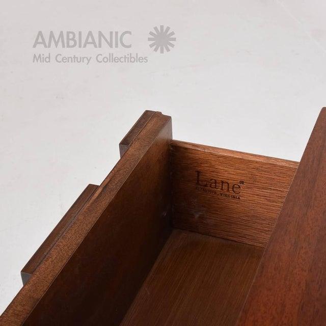 Altavista Lane Mid-Century Modern Lane Nightstand For Sale - Image 4 of 8