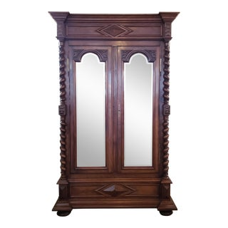 Louis XIII Period Walnut Armoire For Sale
