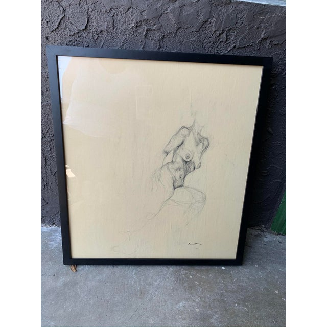 2010s Contemporary Female Nude Drawing For Sale - Image 5 of 5