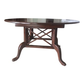 "West Indies Style 60"" Round Birdcage Base Dining Table"