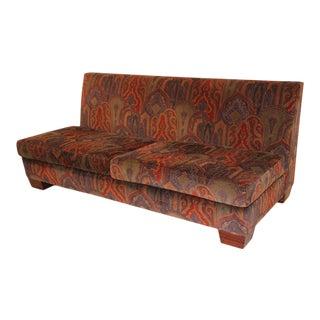 Mid 20th Century Moroccan Moorish Sofa For Sale