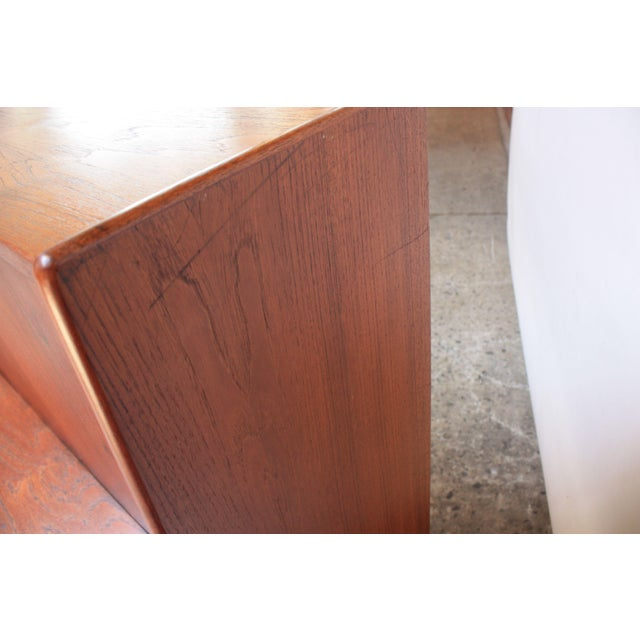Danish Teak Credenza by Ib Kofod-Larsen for Faarup For Sale - Image 12 of 13