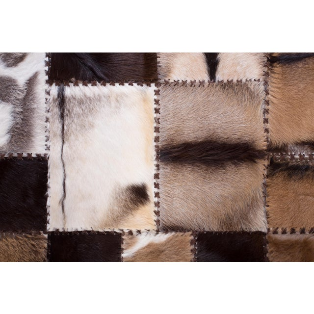 """Aydin Goatskin Patchwork Accent Area Rug - 4'7"""" x 6'7"""" - Image 7 of 9"""