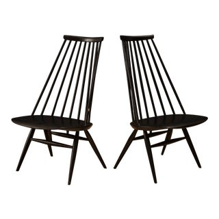 Vintage Ilmari Tapiovaara Mademoiselle Chairs - a Pair For Sale