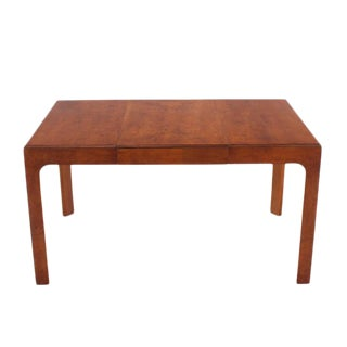 Henredon Square Dining Table with One Extension Board