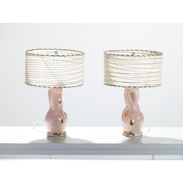 You'll be delighted by the unexpected pops of glamour twisted into the design of these French bedside lamps. Made from...