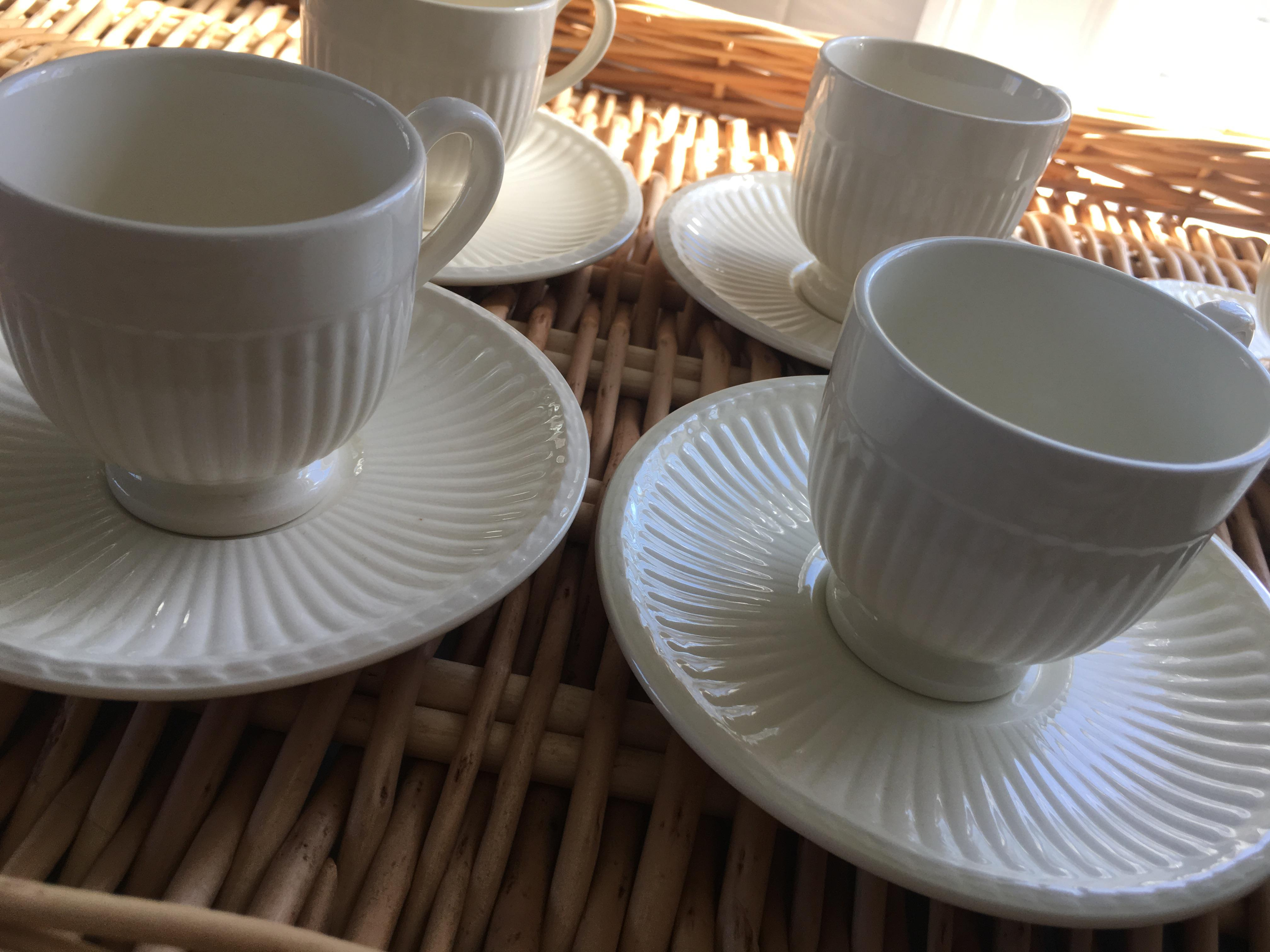 Wedgwood Edme Espresso Cup \u0026 Saucer - Set of 6 - Image 2 ...  sc 1 st  Chairish & Wedgwood Edme Espresso Cup \u0026 Saucer - Set of 6 | Chairish