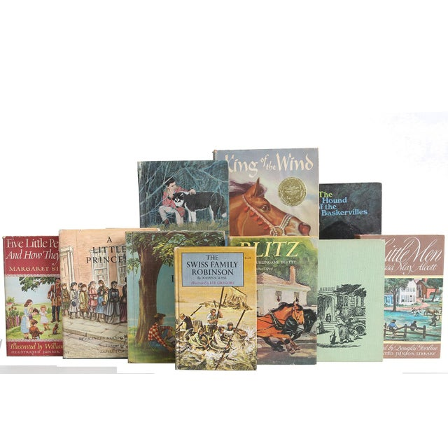 Vintage Stories for Boys & Girls, S/20. Twenty midcentury era children's books featuring a curated mix of stories for boys...