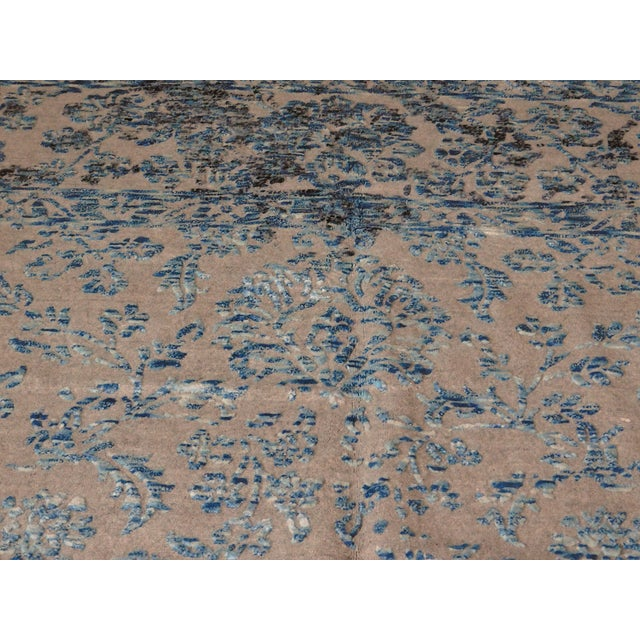 Hand Knotted Indian Rug - 8′ × 10′ - Image 8 of 11