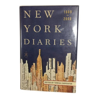 """New York Diaries"" 1609 to 2009 Book"