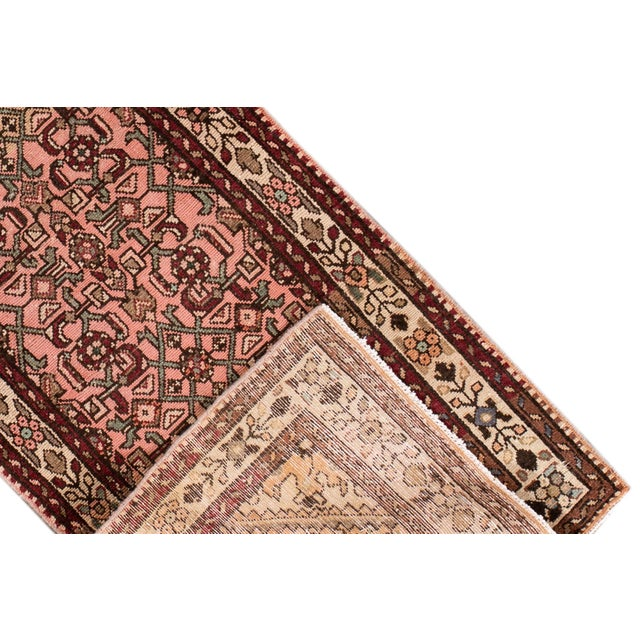 """Persian Vintage Persian Rug, 2'8"""" X 9'7"""" For Sale - Image 3 of 10"""