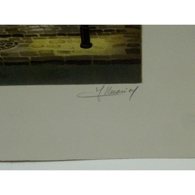 """Le Coindre """"Les Deus Foureles"""" Limited Edition Print For Sale - Image 5 of 5"""