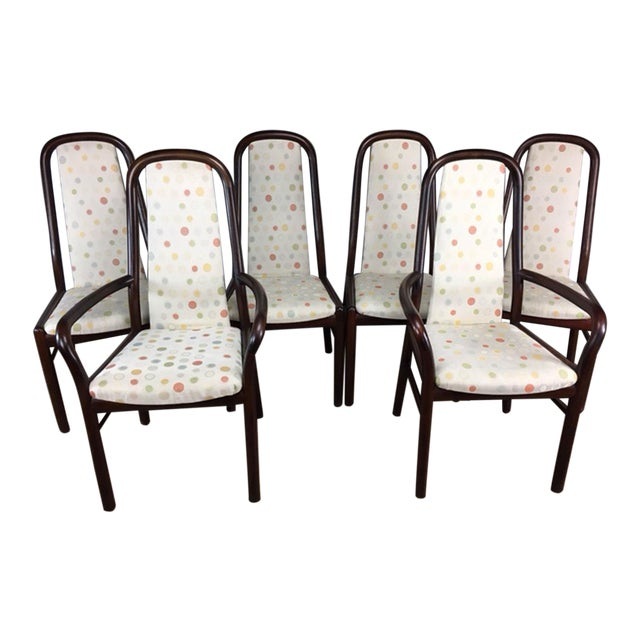 Dyrlund Rosewood Dining Chairs - Set of 6 - Image 1 of 9