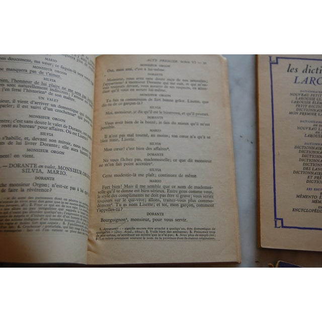 Paper Classiques Larousse Purple Books - Set of 5 For Sale - Image 7 of 7