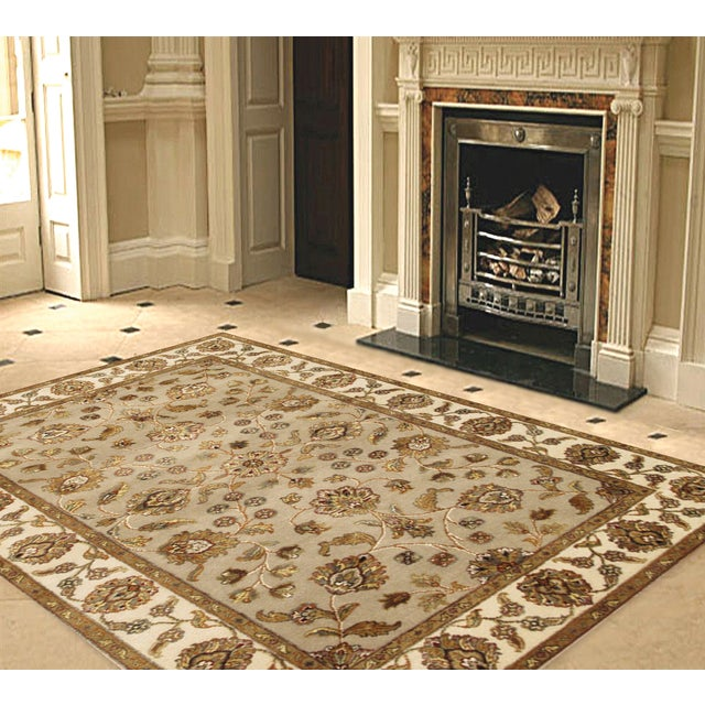 """Pasargad Agra Collection Rug - 4' X 6'2"""" - Image 2 of 2"""