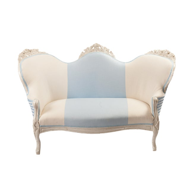 Sensational Diminutive Victorian Settee Ncnpc Chair Design For Home Ncnpcorg