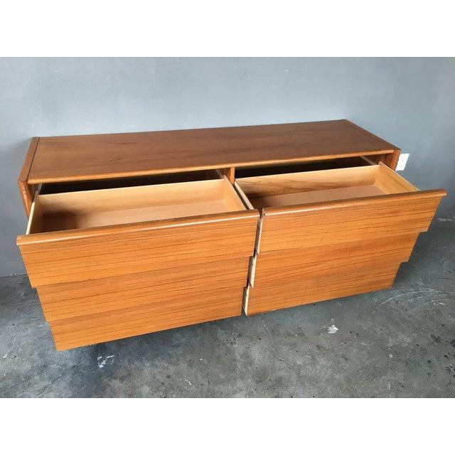 Jesper International Jesper Teak Danish Modern Dresser For Sale - Image 4 of 7