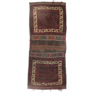 "Vintage Persian Saddlebag - 2'5"" X 5'9"""