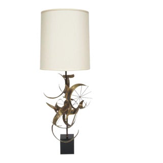 Sculptural Table Lamp by Laurel For Sale