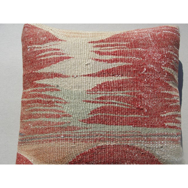 Kilim Rug Pillow For Sale - Image 4 of 11