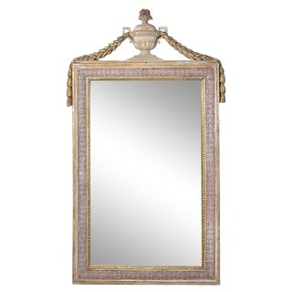 19th Century Swedish Neoclassical Mirror For Sale