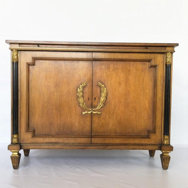 Brown Exceptional Italian Neoclassical Sideboard For Sale - Image 8 of 8