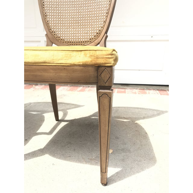 Vintage Caned Back Chairs - A Pair - Image 4 of 7