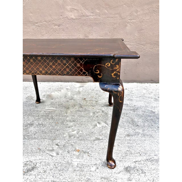 Chinoiserie Center or Games Table For Sale - Image 4 of 5