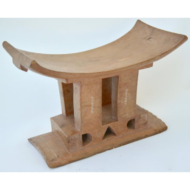 African Ashanti Stool Ghana, Early 20th Century For Sale - Image 3 of 7