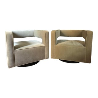 Restoration Hardware Swivel Chairs For Sale