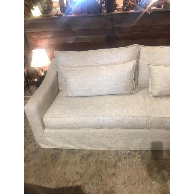Light Gray Moss Studios Darcy Standard Sofas For Sale - Image 8 of 10