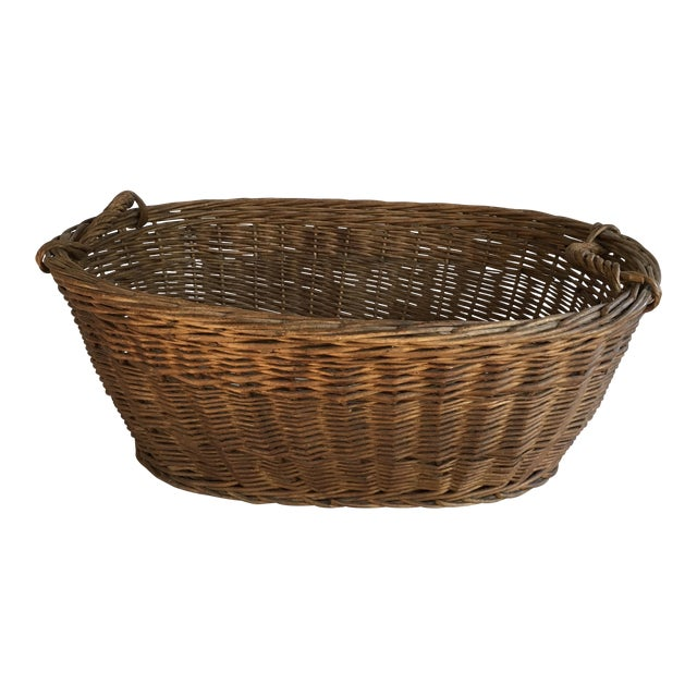 Oval French Patina Basket - Image 1 of 7