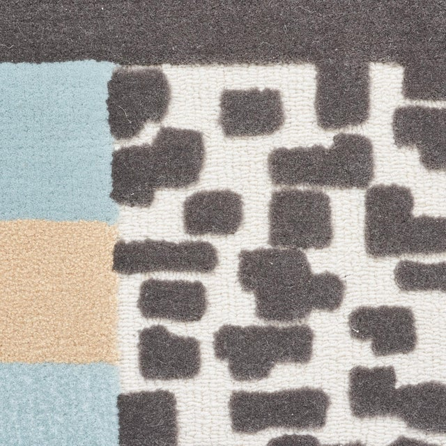 Modern Early 21st Century Schumacher Patterson Flynn Martin Ratio Hand-Tufted Wool Silk Rug - 9' X 12' For Sale - Image 3 of 9
