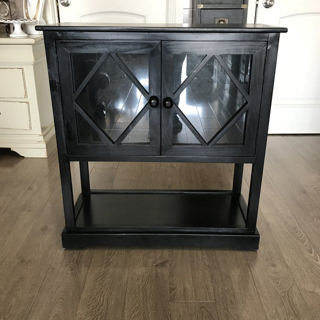 Black Contemporary Entryway Cabinet - Image 2 of 6