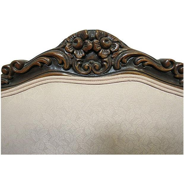 Pink Upholstered Fauteuils - A Pair - Image 6 of 7
