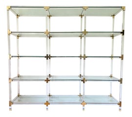 Image of Gold Bookcases and Étagères