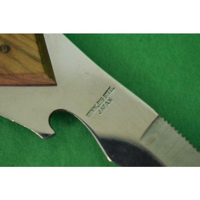 1960s Parrot Garnish Knife W 'Bottle Opener' Beak For Sale - Image 5 of 7
