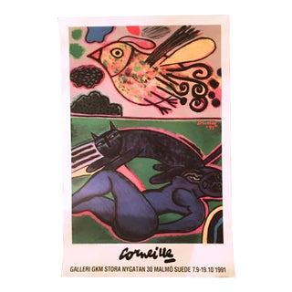 Guilliame Corneille 1991 Exhibition Poster