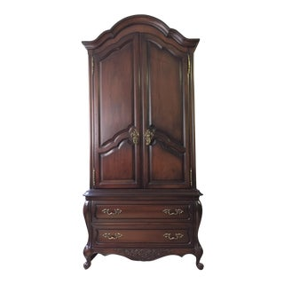 Antique Traditional Wood Armoire