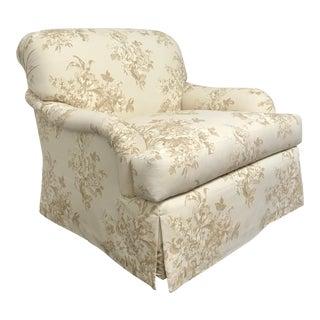 RJones Martin Swivel Base Lounge Chair For Sale