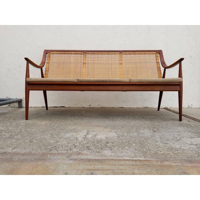 Danish Modern Danish Modern Sofa by Peter Hvidt and Orla Mølgaard-Nielsen For Sale - Image 3 of 12
