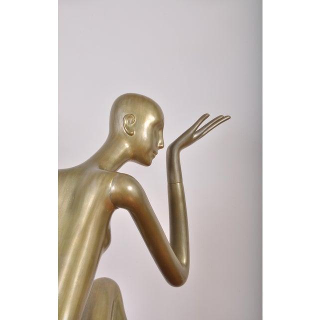 Metal Rare Mannequin From Schlappi Zurich, Switzerland 1976 For Sale - Image 7 of 12