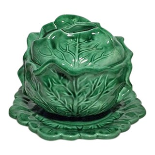 1974 Cabbage Soup Tureen & Under Plate For Sale
