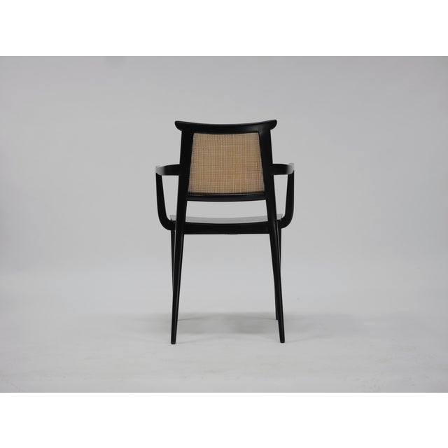 Twelve Asian Dining Chairs by Edward Wormley for Dunbar For Sale - Image 9 of 11
