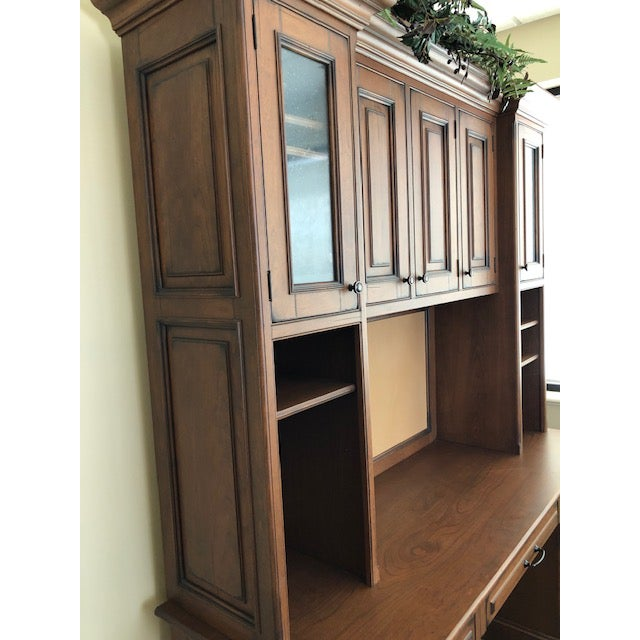 Custom Built Desk With Storage Cabinetry For Sale - Image 4 of 12