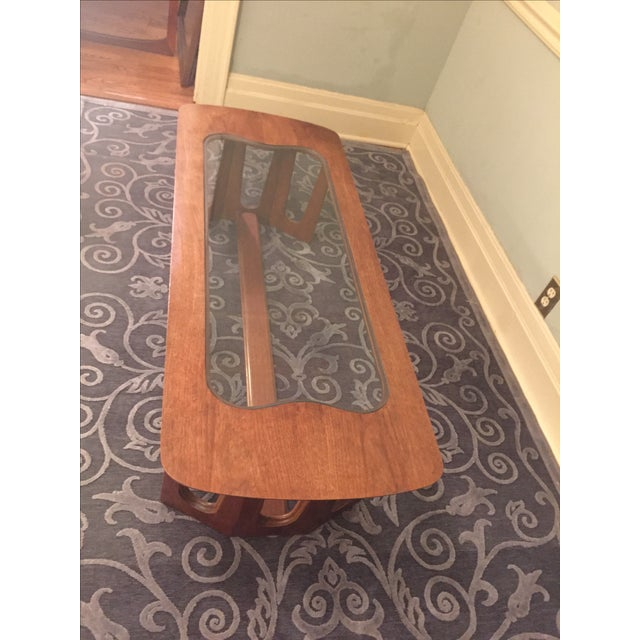 Bassett Brasilia Style Coffee Table For Sale - Image 5 of 8