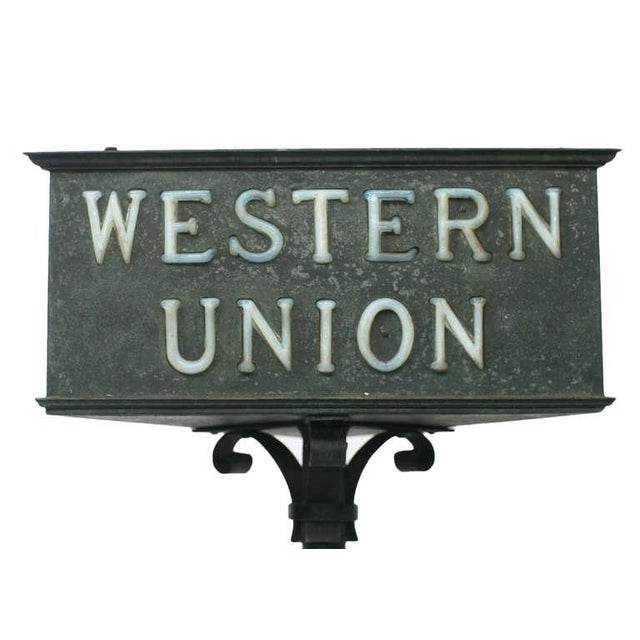 Rustic Western Union Countertop Lamp - Image 4 of 8