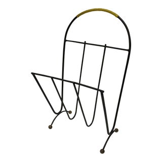 Mid-Century French Magazine Rack