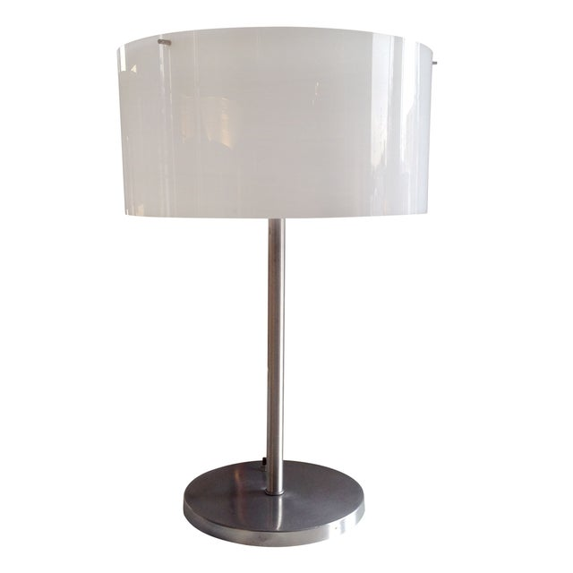 Paul Mayen Table Lamp With White Acrylic Shade - Image 1 of 6